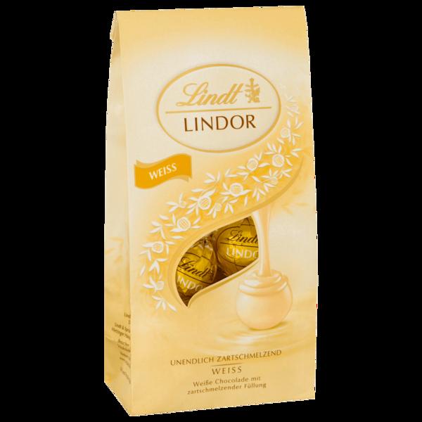 Lindt Lindor Weiß Beutel 136g