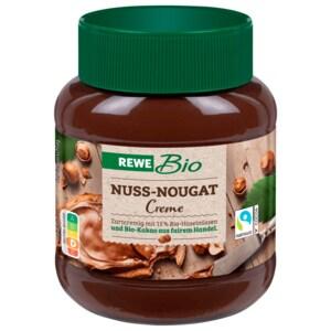 REWE Bio Nuss-Nougat-Creme 400g