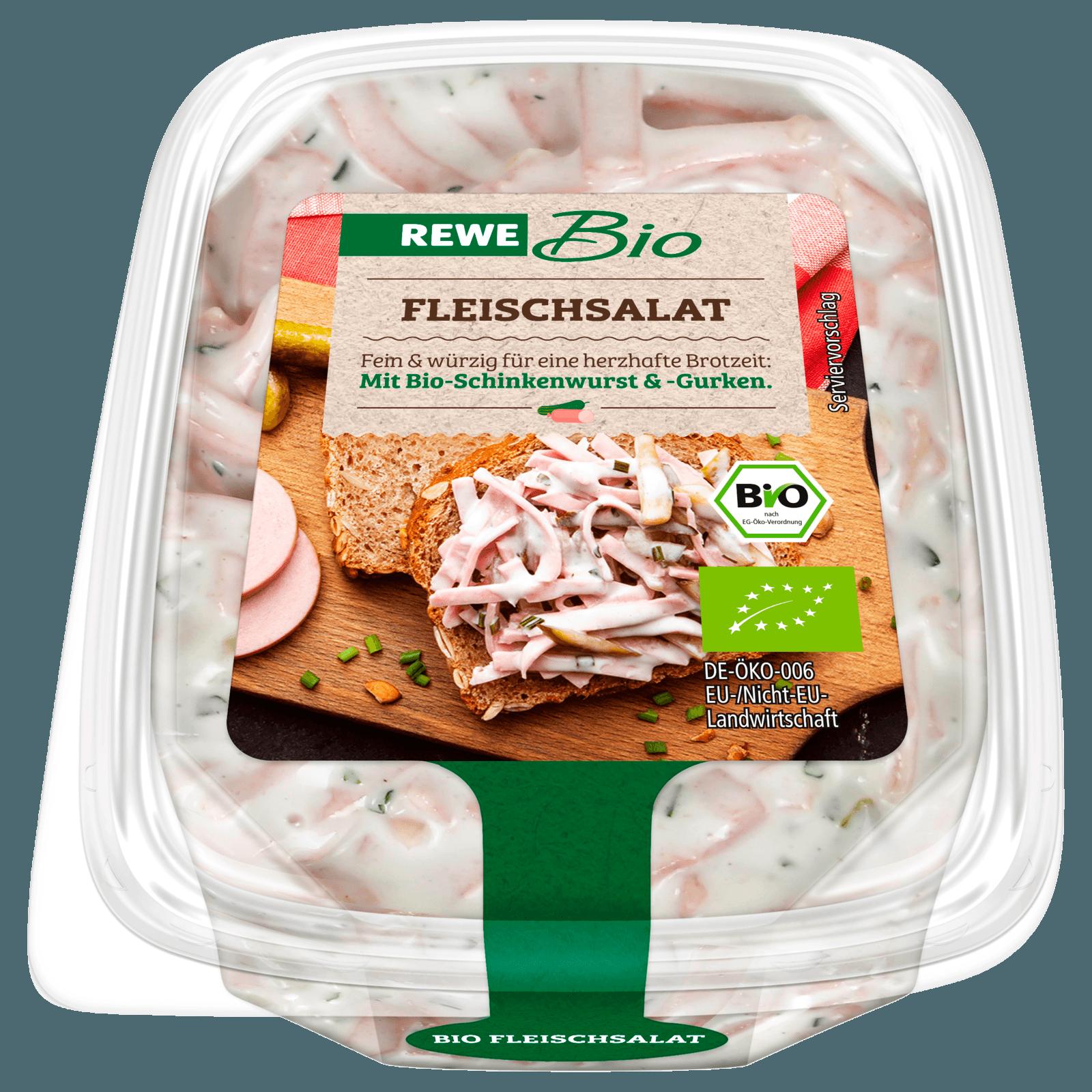 REWE Bio Fleischsalat mit Gewürzgurken 150g