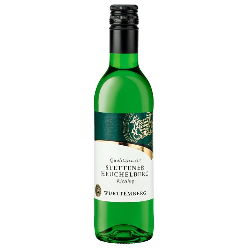 Stettener Heuchelberger Weißwein Riesling halbtrocken 0,25l