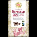 REWE Feine Welt Incahuasi-Espresso ganze Bohne 1kg