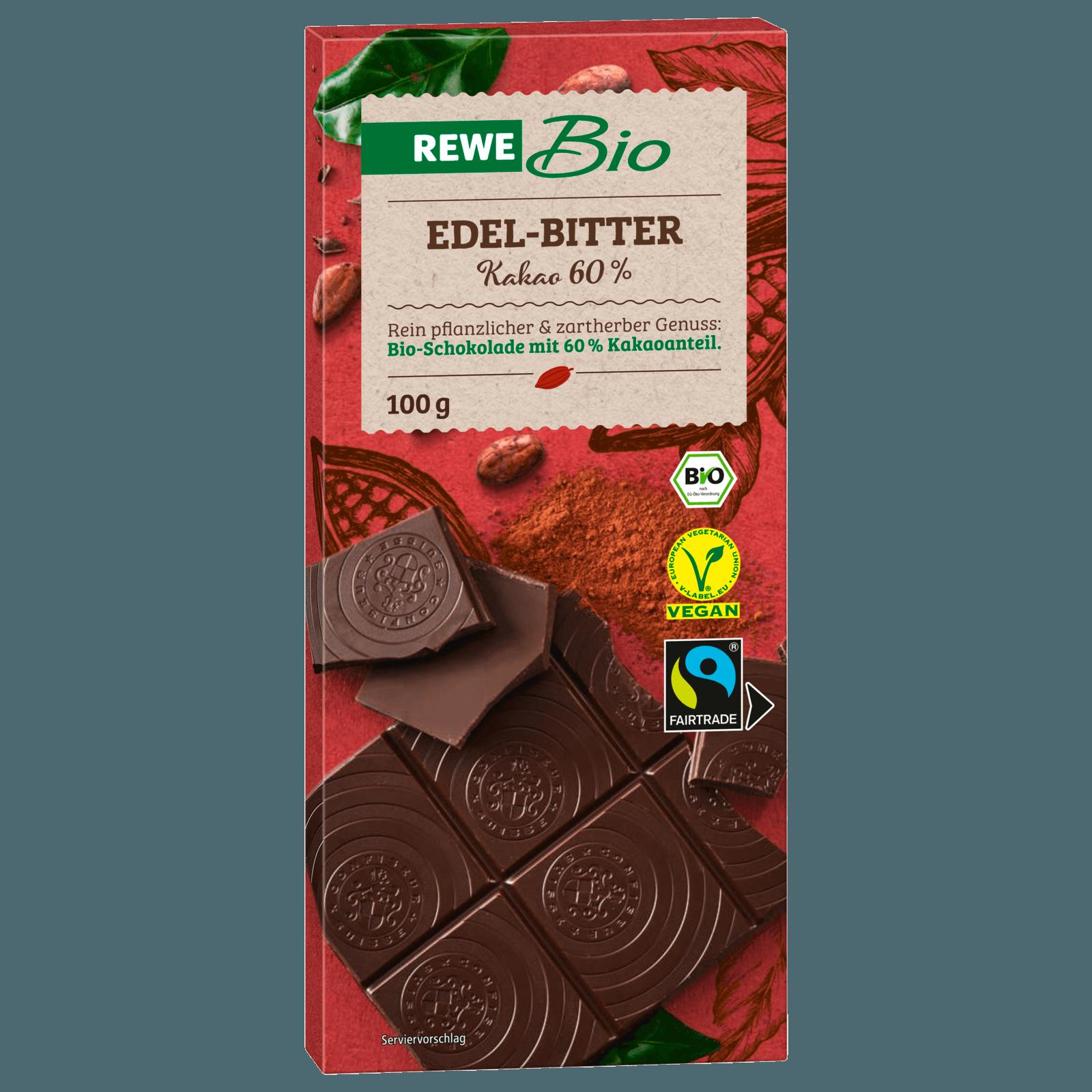 Rewe Bio Schweizer Edelbitter Schokolade 100g Bei Rewe Online Bestellen