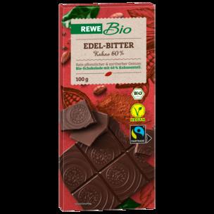 REWE Bio Schweizer Edelbitter-Schokolade 100g