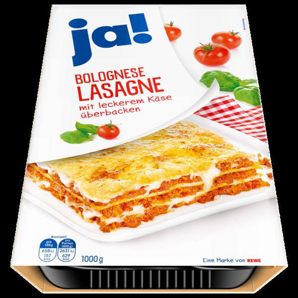 ja! Lasagne Bolognese 1kg