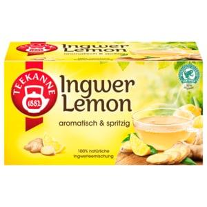 Teekanne Ingwer-Lemon 35g, 20 Beutel