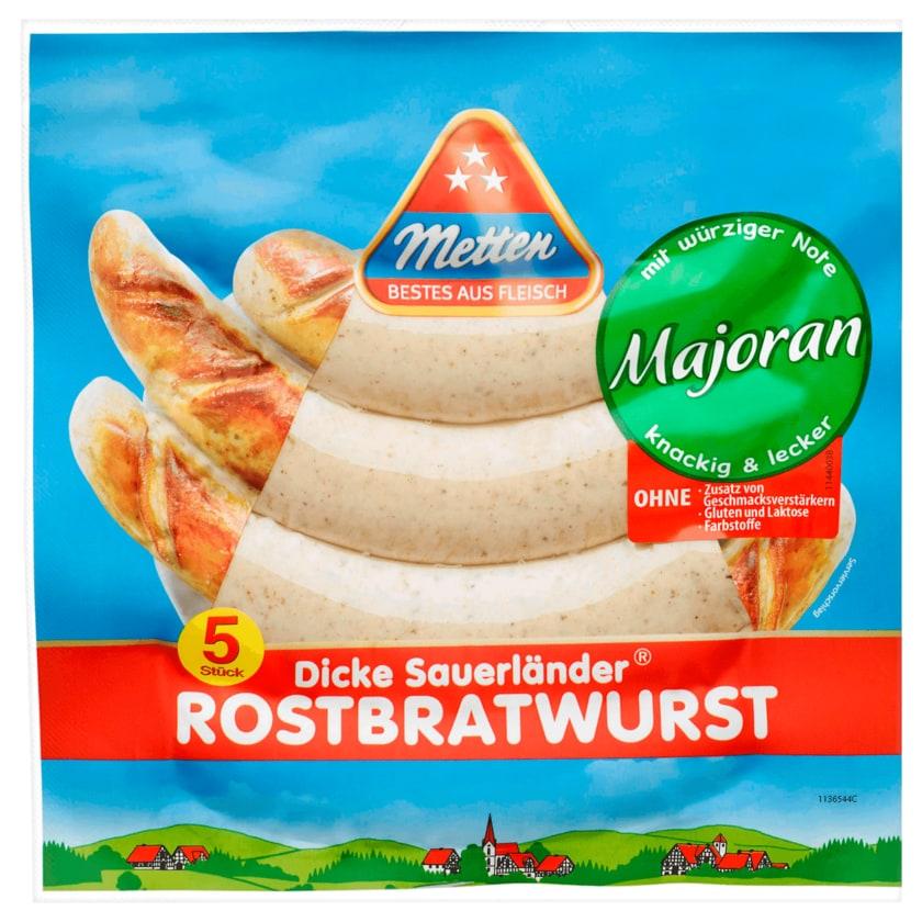 Metten Rostbratwurst mit Majoran 5x90g