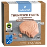 Followfish MSC Thunfisch-Filets Natur 130g