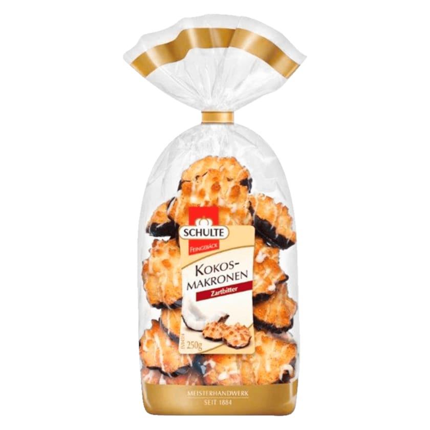 Schulte Kokosmakronen Zartbitter 250g