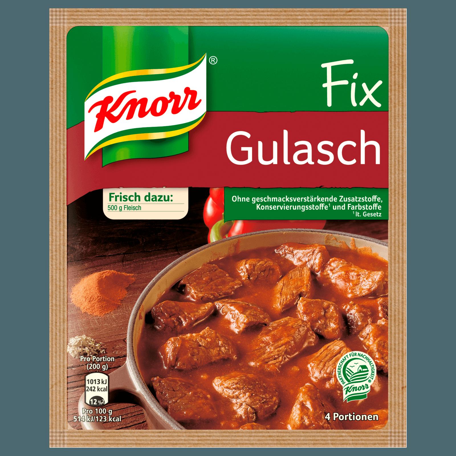 Knorr Fix Gulasch 4 Portionen