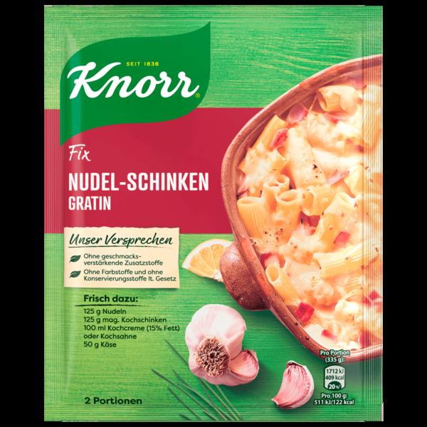 Knorr Fix Nudel-Schinken Gratin 2 Portionen