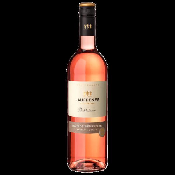 Lauffener Rosé Samtrot Weißherbst lieblich 0,75l