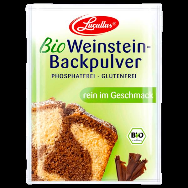 Lucullus Bio Weinstein-Backpulver 3 Stück