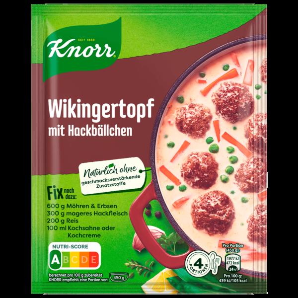 Knorr Fix Wikingertopf mit Hackbällchen 3 Portionen