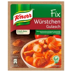 Knorr Fix Würstchen-Gulasch 32g