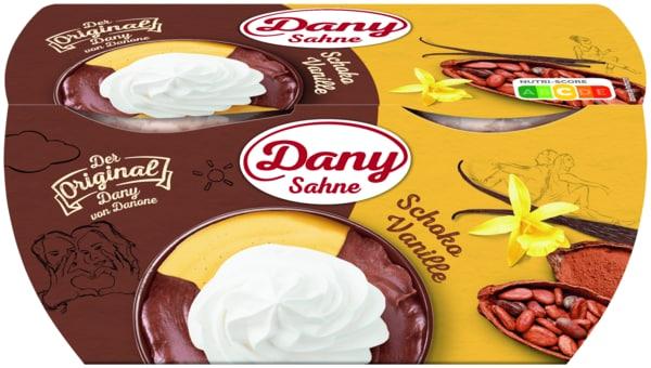 Danone Dany Sahne Schoko-Vanille 4x115g
