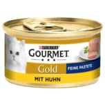Purina Gourmet Gold Feine Pastete mit Huhn 85g