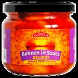 Dovgan Delikatessen Bohnen in Tomatensauce 340g