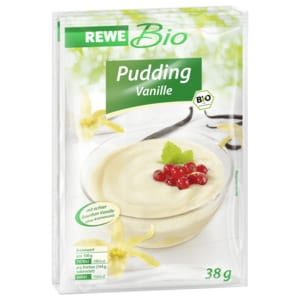 REWE Bio Puddingpulver Vanille 2x38g