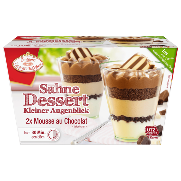 Coppenrath & Wiese Kleiner Augenblick Mousse au Chocolat 180g
