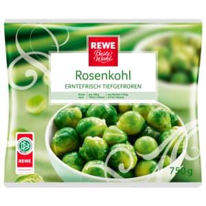 REWE Beste Wahl Rosenkohl tiefgefroren 750g