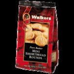Walkers Mini Shortbread Rounds 125g