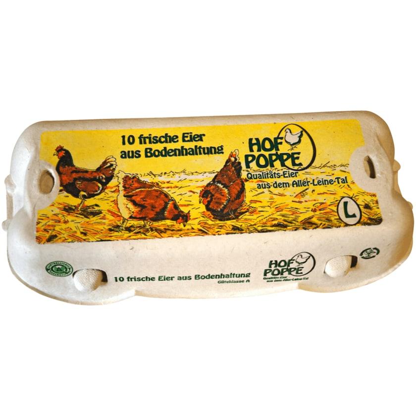 Hof Poppe Eier 10 Stück