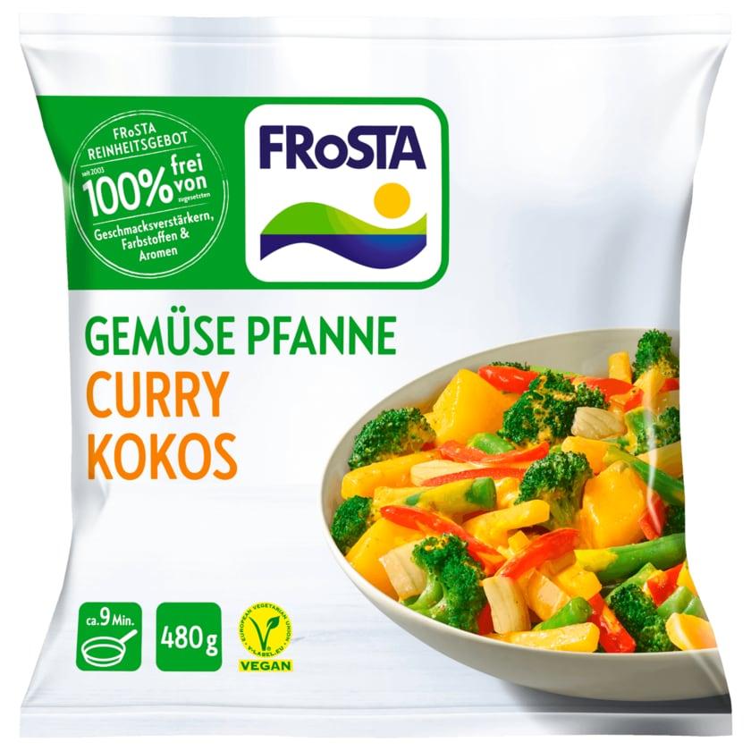 Frosta Gemüse Pfanne Curry Kokos 480g