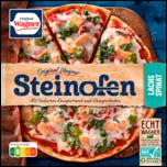 Original Wagner Steinofen Pizza Lachs Spinat tiefgefroren 350g