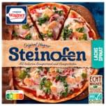 Original Wagner Steinofen Pizza Lachs Spinat 350g