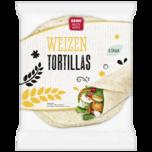 REWE Beste Wahl Tortilla Wraps Weizen 432g