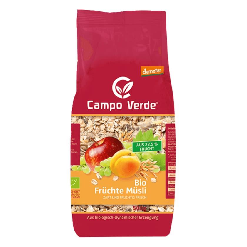 Campo Verde demeter Bio Früchte Müsli 500g