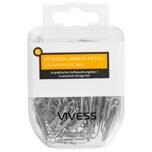 Vivess Büroklammern Metall 175 Stück