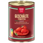 REWE Beste Wahl Geschälte Tomaten 240ml