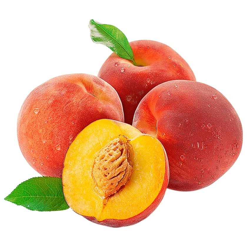 Pfirsiche gelb 1kg Schale