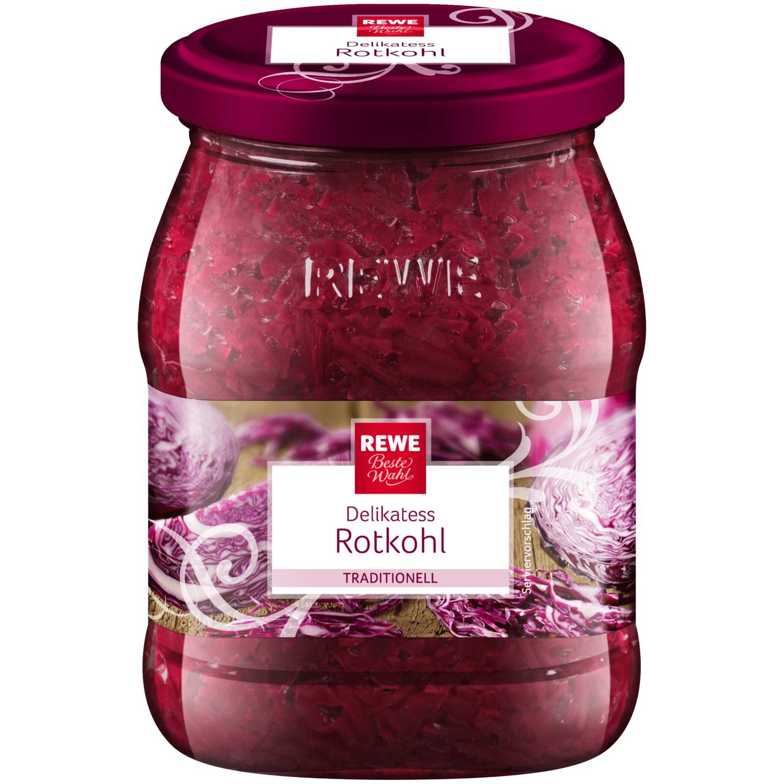 REWE Beste Wahl Delikatess-Rotkohl 650g