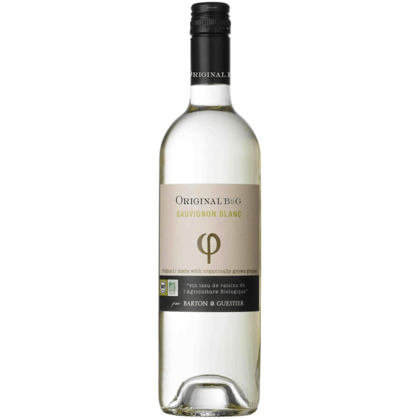 Barton & Guestier Original Weißwein Sauvignon Blanc Bio trocken 0,75l