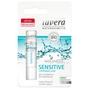 Lavera Lippenbalsam Basis sensitive mit Bio Jojoba & Bio Mandel 4,5g