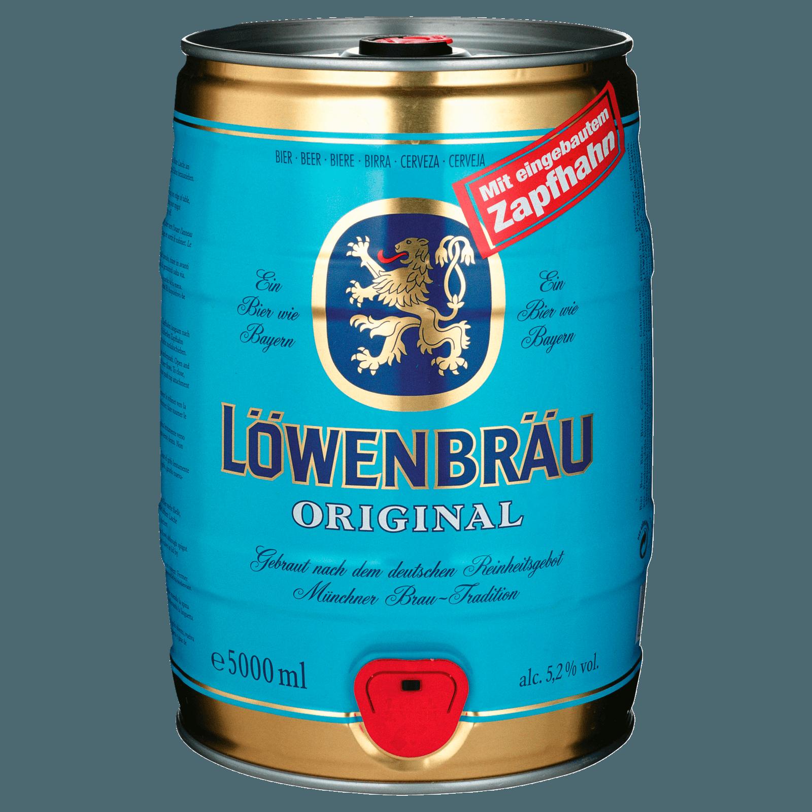 Löwenbräu Original Fass 5l bei REWE online bestellen!
