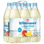 Wittenseer Iso Sport Vital Grapefruit-Zitrone 6x1l