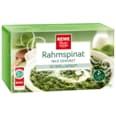 REWE Beste Wahl Rahmspinat mild gewürzt 500g