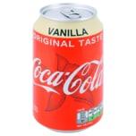 Coca-Cola Vanilla Dose 0,33l