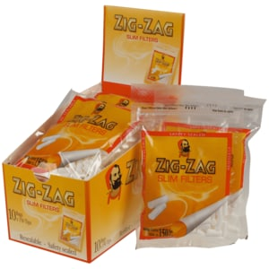 Zig Zag Drehfilter Slim 150 Stück