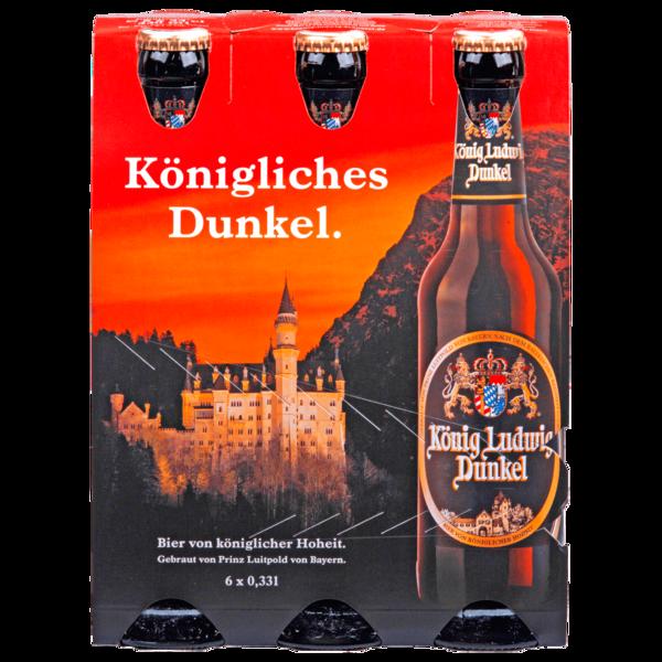 König Ludwig Dunkel 6x0,33l