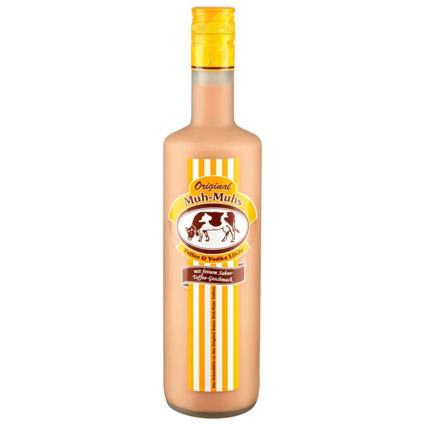 Original Muh-Muhs Toffee & Vodka Sahnelikör 0,7l