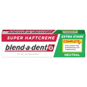 Blend-a-dent Super-Haftcreme extra stark neutral 47g