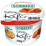 Söbbeke Bio Sahne Kefir Erdbeere 200g