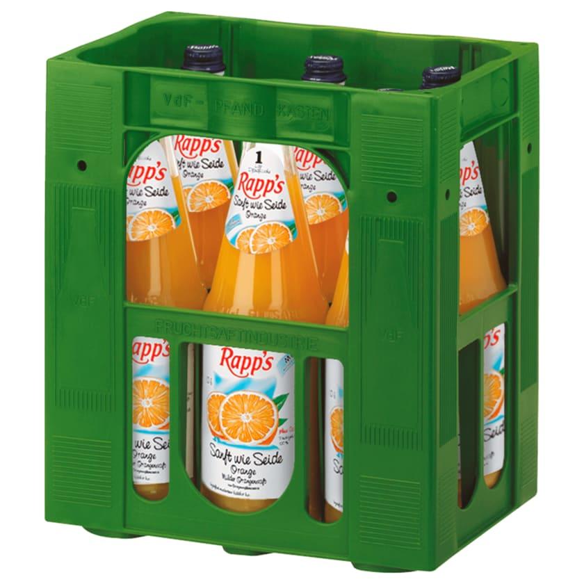 Rapp's Orangensaft Sanft wie Seide 6x1l