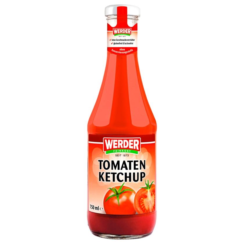Werder Feinkost Tomatenketchup 750ml