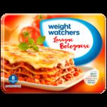 Weight Watchers Gut aufgetischt Lasagne Bolognese 350g