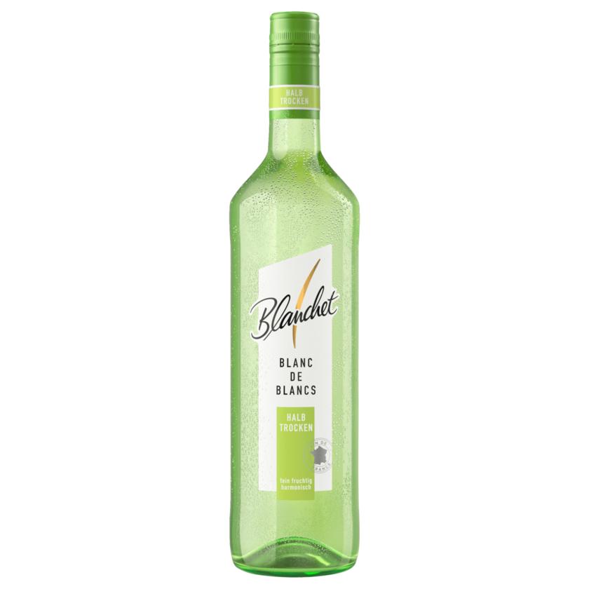 Blanchet Weißwein Blanc de Blancs halbtrocken 0,75l